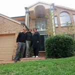 Vor dem Haus in einem hübschen Quartier in Ringwood bei Melbourne